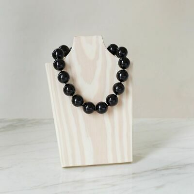 """Hot Girls Pearls Black Ice Coolection 16"""" Necklace"""