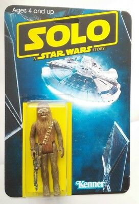 Solo A Star Wars Story Stunning Custom Chewbacca Sand Storm Guise  Action Figure
