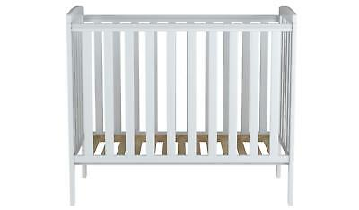 Mini Space Saver Compact Cot For Baby White Rafferty