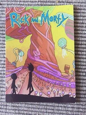 Rick And Morty Trading Card P8 SDCC 2018 Exclusive Cryptozoic