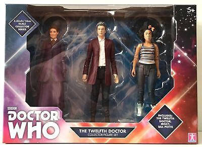 Doctor Who THE TWELFTH DOCTOR Collector Figure Set B&M EXCLUSIVE