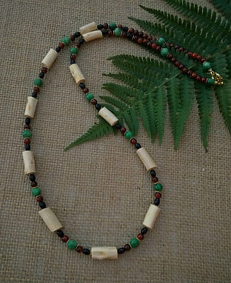 Tara Irish Wood Necklace