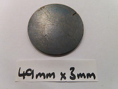 Mild Steel Disc Circle 49 x 3mm