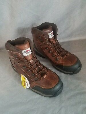 NWT Sz. 12 Hiking Boots, Men's, Brown, Composite Avenger Safety Footwear