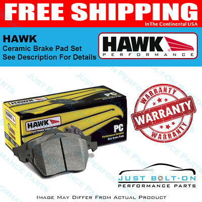 Front Set Hawk HB432Z.661 PC Performance Ceramic Brake Pads
