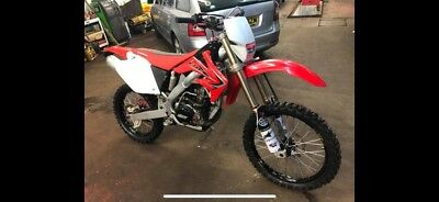 honda 2004 crf250r road legal enduro bike
