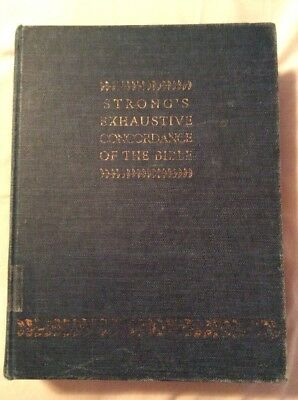 Watchtower Jehovah Strong's Exhaustive Concordance Of The Bible