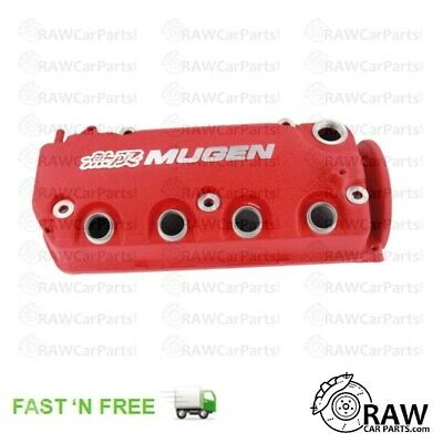 Mugen Style Valve Rocker Engine Cover for Honda Civic D16 VTEC Red D16Y8 D16Z6