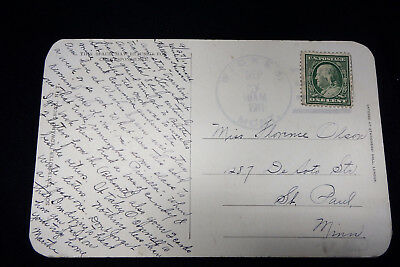1911 Queen of Spades postcard Wickes Montana postmark ghost town