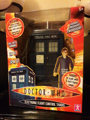 Doctor Who Flight Control Tardis 10th Doctor Lights & Sound FX  Boxed