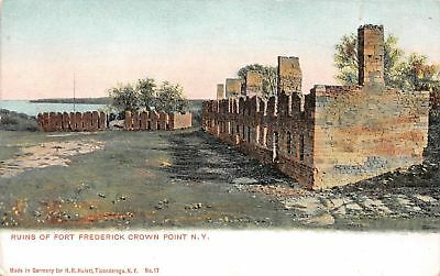 C07-4965, Ruins Of Fort Frederick Brown Point, Ny. 1900S Postcard,