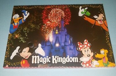 Disney Parks 9 Deluxe Postcards Mickey Mouse Minnie Goofy - NEW