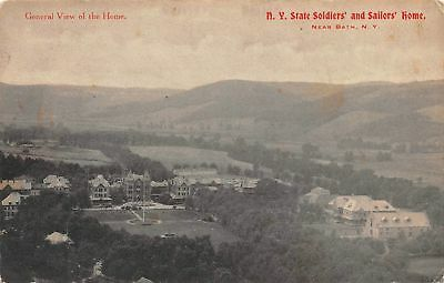 C07-5093, Ny State Soldiers' And Sailors' Home, Bath, Ny.