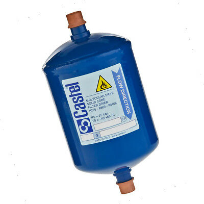 Castel 3/8'' Liquid Line Filter Drier - Flare - Df308/3 Rf769A