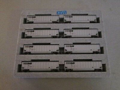 N Scale Trains Kato Norfolk Southern Coal Porter 8 Car Set #1 No Box