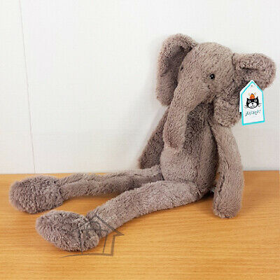 NEW Jellycat Pitterpat Elephant Medium 40cm Soft Plush Toy Kids Teddy Elly