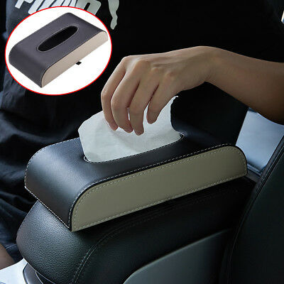 Tissue Box Cover Rectangular Holder for Home Car Office Decor
