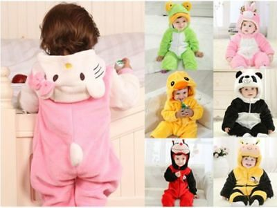 Baby Boy Girl WINTER WARM Birthday Fancy Party Costume Dress Outfit Gift 0-24M =