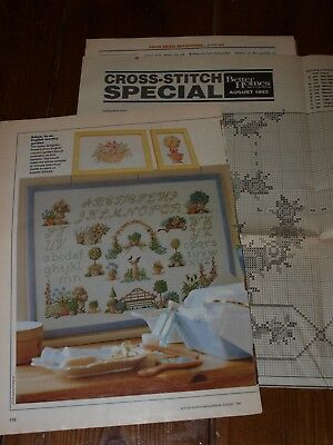 Better Homes & Gardens Cross Stitch Special - Patterns - 1993