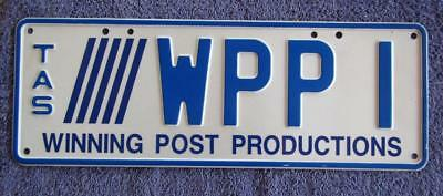 Graphic Corporate License/number Plate # Wpp1