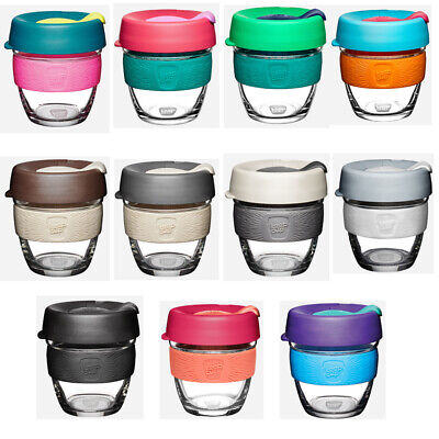 KeepCup Brew Temper Glass Cup Reusable Barista Eco Coffee Cup 8oz/12oz Keep Cup