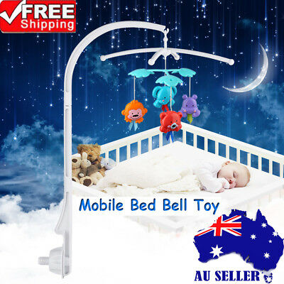 New Baby Kids Crib Mobile Bed Bell Rotary Arm Bracket Holder Nursery Accessory A