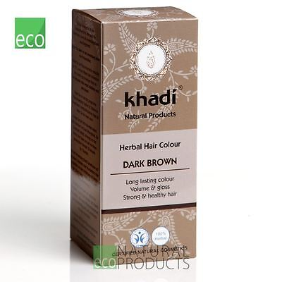 💚Khadi Herbal  Hair Colour Dark Brown 100g