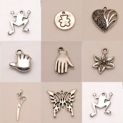 New Tibetan Charm Alloy Pendant Jewelry hat Findings Silver God fit Necklace