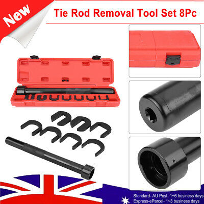 Heavy Duty Inner Tie Rod Removal W/ 7 pieces adaptor Tool Set for Car Repair