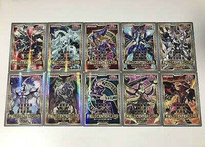 Japanese Yugioh - Field Center Card 10 Cards Set 20th Aniversary 2nd Promo