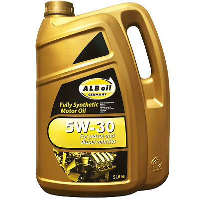 Alboil Synplus Sae 5W30 Fully Synthetic Car Engine Oil 5L Gm Spec 5 Litre