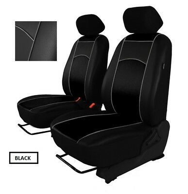 VOLKSWAGEN POLO Mk5 2009-2017 ECO LEATHER TAILORED SEAT COVERS MADE TO MEASURE
