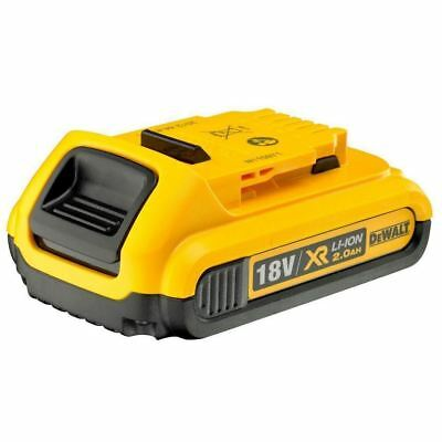 NEW Genuine Dewalt DCB183 18v 2.0Ah XR Li-Ion 2ah Lion Slide Battery 2000mah