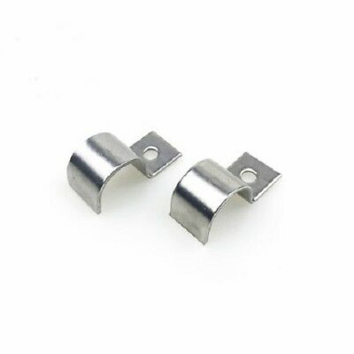 Stainless Steel Pipe Clip One-Hole Saddle Strap Clamp Tube Fastener Holder