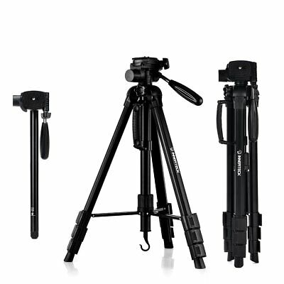 Camera Tripod Stand Professional 70 Inch with Carry Bag for SLR DSLR Canon Nikon