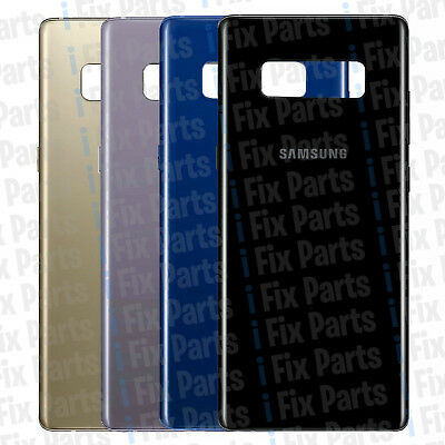 Original OEM Rear Glass Back Battery Cover for Samsung Galaxy Note 8 N950F Note8