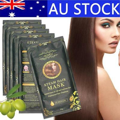 Aliver Automatic Heating Steam Hair Mask Moisturizing Nourish Keratin Treatment