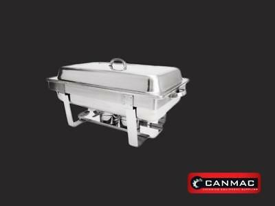 8.5 L Chafing Dish Chafer with Water & Food Pan,Cover & 2 Chafing Fuel Holder
