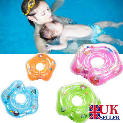 Inflatable Baby Infant Swimming Neck Float Ring Safety Adjustable 1-18 Months