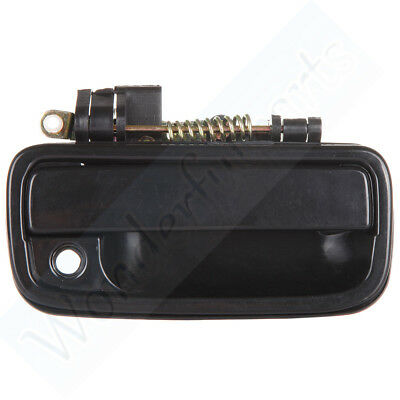 Door Handle Black Exterior Outside Front Right Side For 95-04 Toyota Tacoma