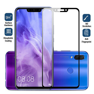5D Scratchproof Temper Glass Film For Huawei Nova 3i 3 Y8 Glass Screen Protector