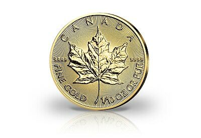 Kanada 5$ Maple Leaf 2018 999,9er Gold 1/10oz