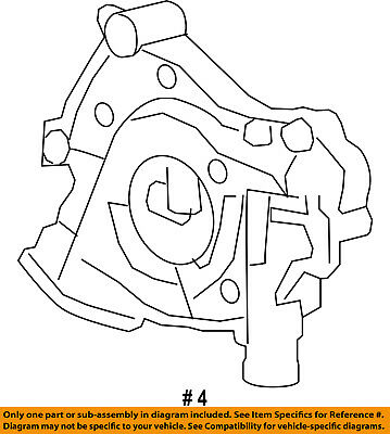 Ford Oem Engine Oil Pump F8oz6600aa