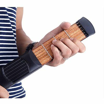 Portable Pocket Acoustic Guitar Practice Tool Gadget Chord Trainer 4 Fret MA