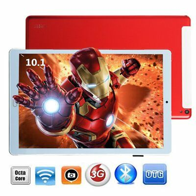 32GB 10.1 Zoll IPS TABLET PC ANDROID 7.0 Dual SIM/Cam 3G WIFI GPS OTG Smartphone