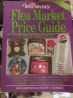 Warman's flea market price guide 2nd edition