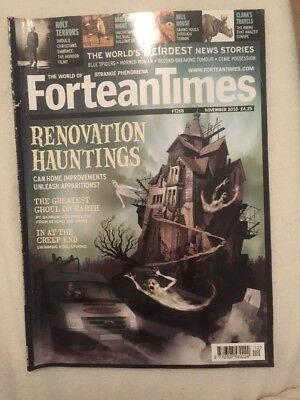 Fortean Times Nov 2010 FT 268 Renovation Hauntings, The Greatest Ghoul on Earth
