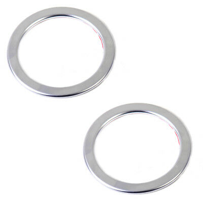 2xChrome Plated Interior Air Vent Outlet Trim Cover Ring For  Mercedes Benz W246