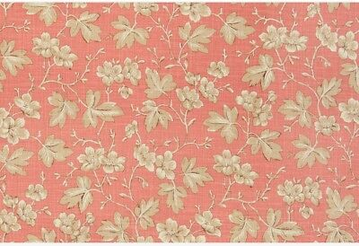 French General Odile Linen Rose Fabric
