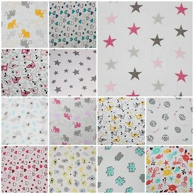 Beautiful XXL Muslin Squares 100% Cotton Cloths LARGE 70x80cm Baby Nappies Towel